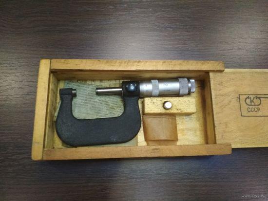 Микрометр 25-50 СССР