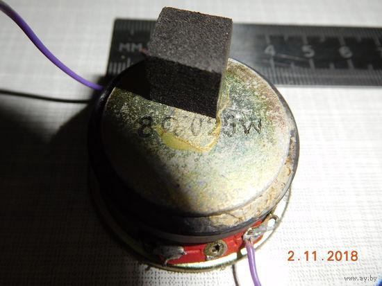 Динамик 8 Ом 0,25 W