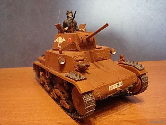 """Итальянский танк """"Carro Armato M 13/40"""" Масштаб 1:35"""