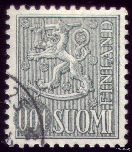 1 марка 1968 год Финляндия
