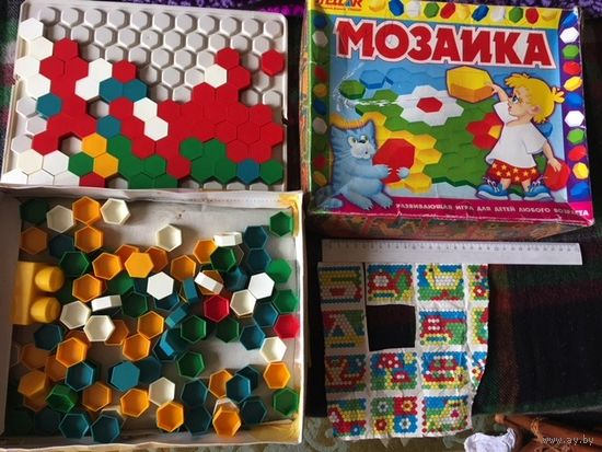 Игра Мозаика Развивающая игра для детей любого возраста