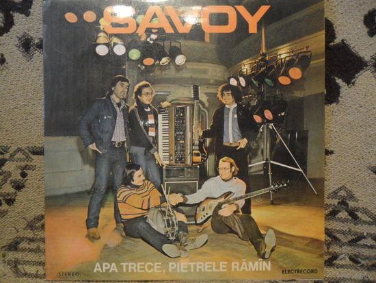 Savoy - Apa trece, pietrele ramin - Electrecord, Румыния - 1977 г.