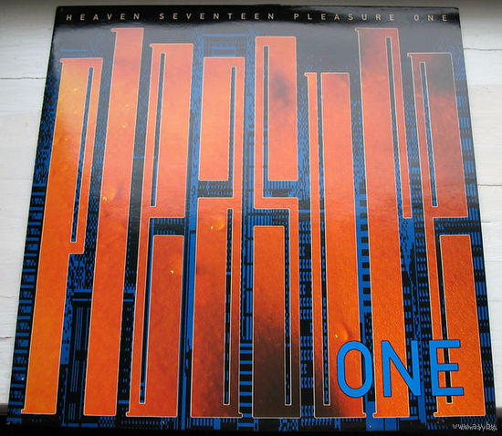 "Heaven 17 ""Pleasure One"" LP, 1986"