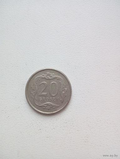 20 грош 1992г.Польша