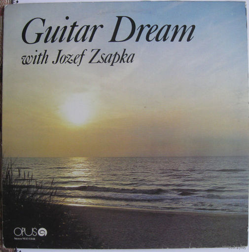LP JOZEF ZSAPKA - Guitar Dream (1982)