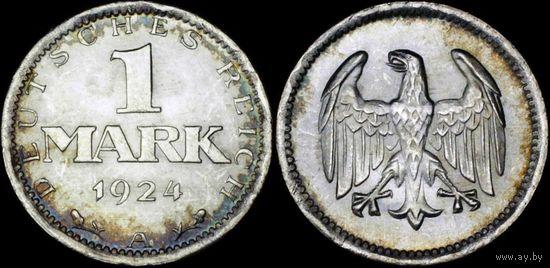 1 марка 1924 А  UNC