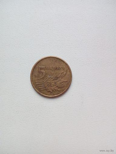 5 грош 1999г. Польша