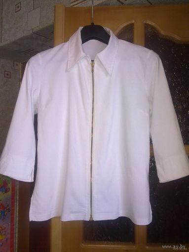 Блузы белые вискоза. НЕДОРОГО