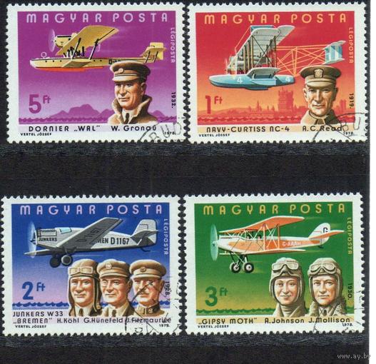 1978 ВЕНГРИЯ 75 лет моторной авиации самолет