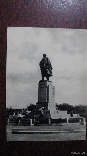 Ульяновск 1958г  памятник Ленину