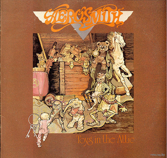 Aerosmith - Toys In The Attic - LP - 1975