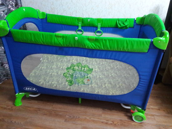 Кровать - Манеж SECA Babypark 2-х уровневый