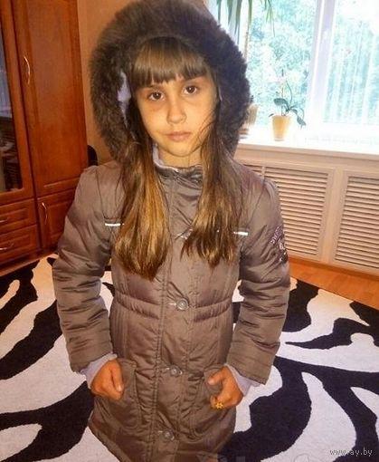 Куртка пальто для девочки до 6 лет