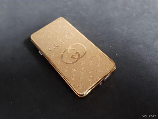 Беспламенная электро USB зажигалка Gucci
