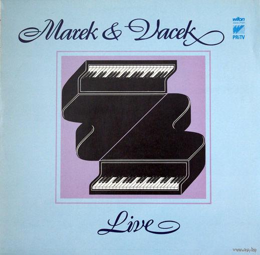 Marek & Vacek  - Marek & Vacek  Live - LP - 1980
