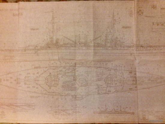Масштабные чертежи военных кораблей