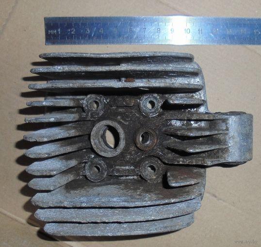 Рига-16 головка цилиндра СССР для мопеда Ш57.100.303.0 ( радиатор алюминий аллюминий алюминиевый  )