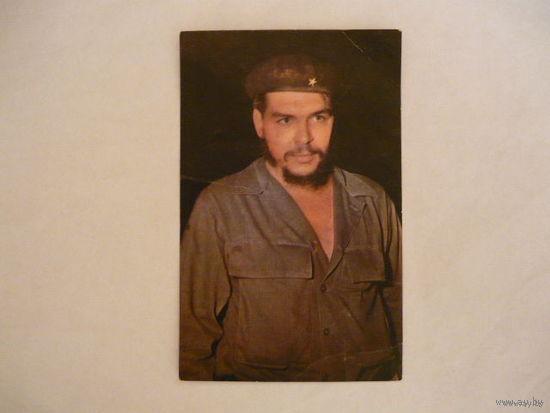Открытка с Че Геваро.