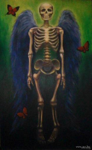 """Картина. """"Воскресение - путь от смерти к жизни"""" 145 х 88см"""
