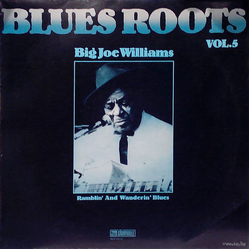 Big Joe Williams  -  Ramblin' And Wanderin' Blues - LP