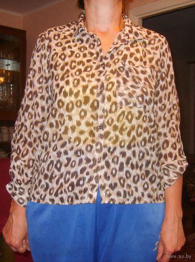 Леопардовые Блузки Купить В Омске