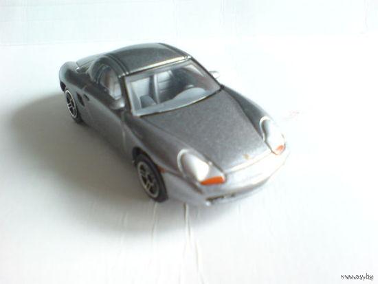 Porsche boxster s 1\58 серебристый металлик. метал.  распродажа