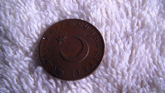 Турция 10 куруш 1971г. (колоски, полумесяц и звезда) распродажа