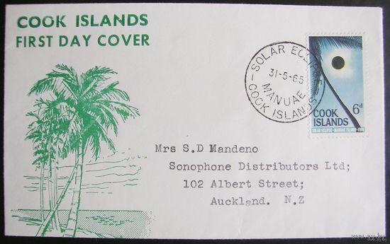 Британские колонии. Острова КУКА. FDC 1965
