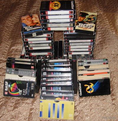 Видеокассеты с фильмами бу (состояние супер)