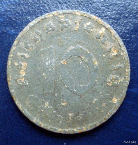 10 пфенингов 1940 (F)