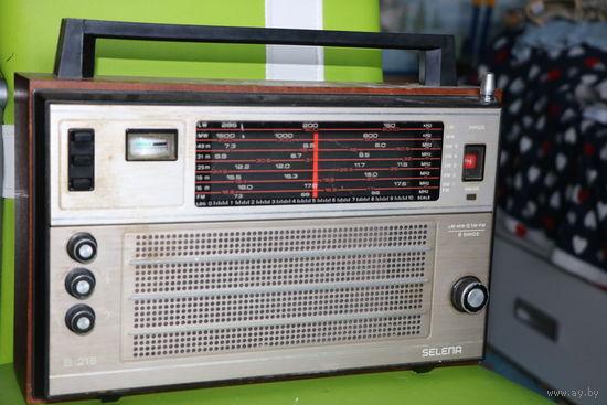 Радиоприемник Селена В-216