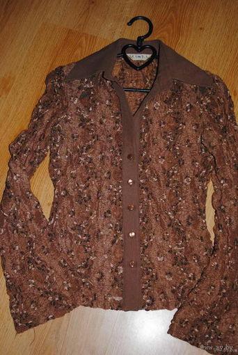 Блуза женская, вечерняя, полностью из высококачественного гипюра-ПОЛЬША-Размер-40/42!