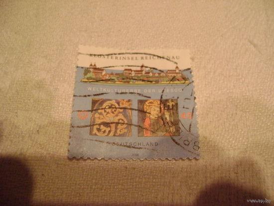 Марка почты Германии