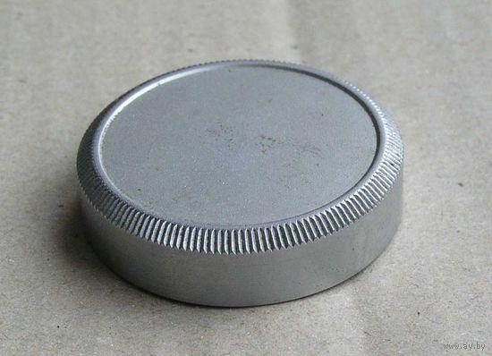 Крышка задняя для объектива резьба М39 металлическая времен СССР