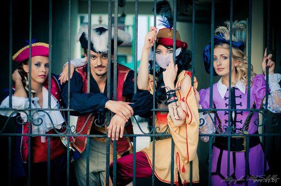 Прокат карнавальных маскарадных театральных сценических костюмов для корпоративов съемок праздников