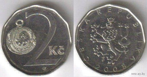 Чехия. 2 кроны 1994г.  распродажа