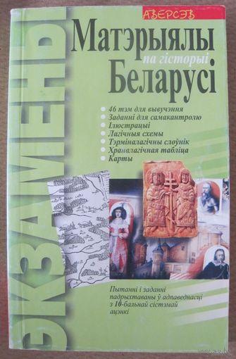 Матэрыялы па гiсторыi Беларусi