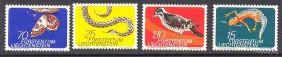 Лихтенштейн фауна бабочка птица змея