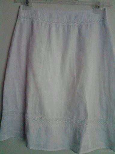 Белая стильная юбочка NAF NAF, 44-46