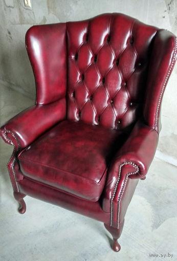 Ушастое Английское кресло Chesterfield - Честерфилд