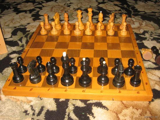 Шахматы большие 45х45 советские, дерево