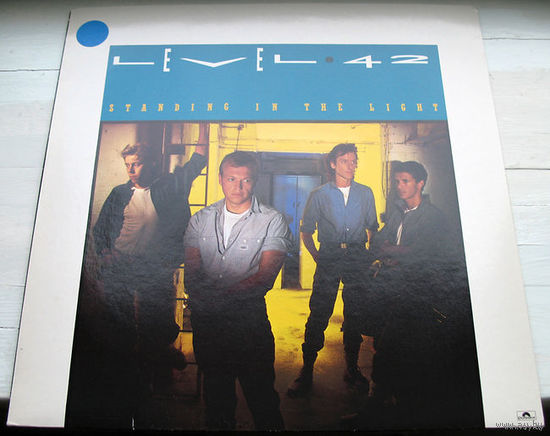 "Level 42 ""Standing In The Light"" LP, 1983"