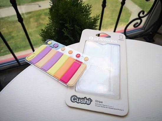 Чехол для iphone 5 накладка на заднюю крышку idAmerica Cushi - stripe