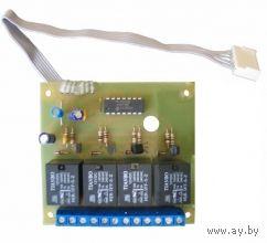 Релейный модуль для сигнализации рм 64-4