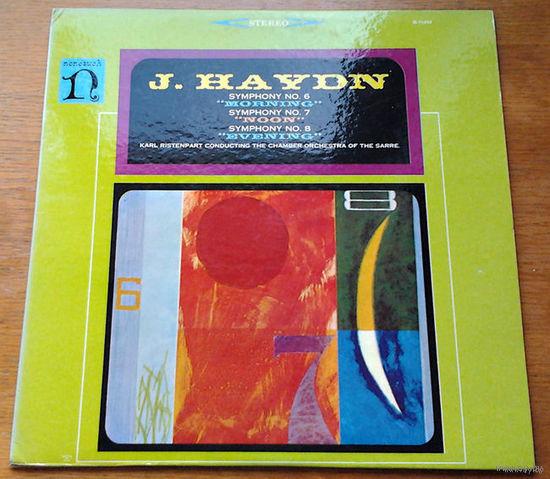 Haydn. Symphonies 6-8 - Ristenpart, LP
