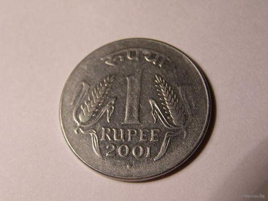 1 рупия индия 2002г.   распродажа