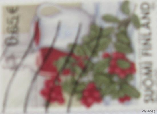 Марка Финляндии. Растения,флора,цветы.