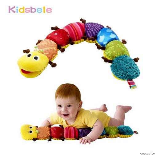 Развивающая игрушка гусеница и ростомер