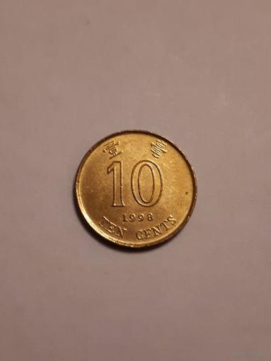 10 центов 1998г.