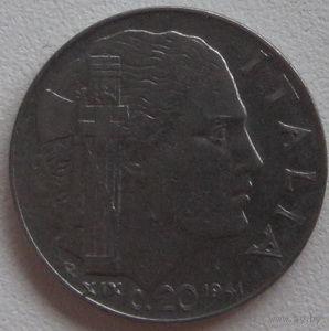 Италия 20с 1942г.   распродажа